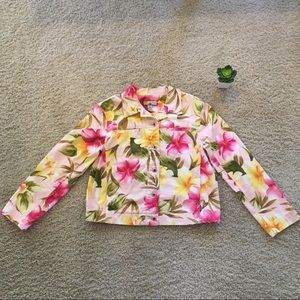Caribbean Jo Tropical Jacket